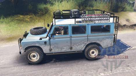 Land Rover Defender Series III for Spin Tires