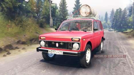VAZ-2121 for Spin Tires