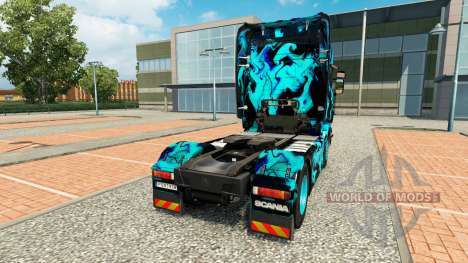 Skin Green Smoke for Scania truck for Euro Truck Simulator 2