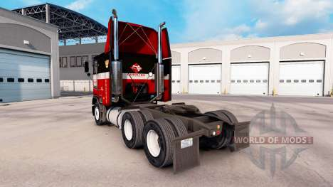 Skin at Carolina tractor Freightliner FLB for American Truck Simulator