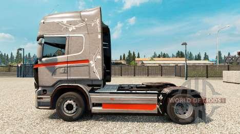 Skin Monstera for Scania truck for Euro Truck Simulator 2