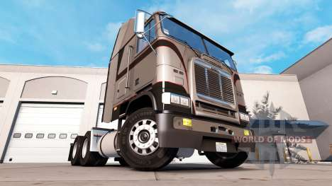Skin Metallic Gray on the tractor unit Freightli for American Truck Simulator