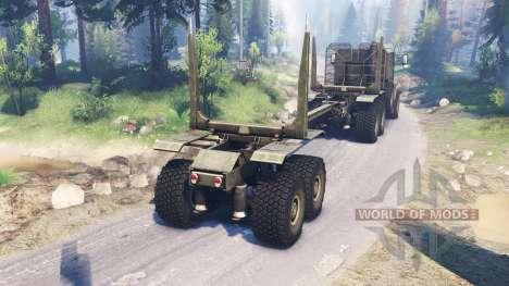 Oshkosh M1070 HET for Spin Tires