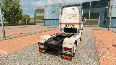 Iberia skin for Scania truck for Euro Truck Simulator 2