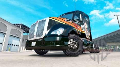 Skin Harley-Davidson on a Kenworth tractor for American Truck Simulator