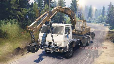 KamAZ 55102 [loader] for Spin Tires