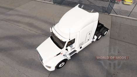 Daybreak Express skin for the truck Peterbilt for American Truck Simulator