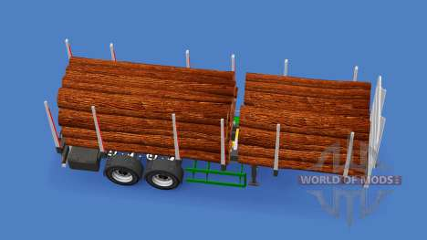 Semi-trailer truck for American Truck Simulator
