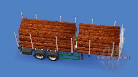 Semi-trailer truck for American Truck Simulator