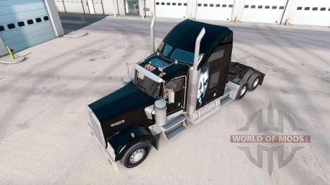 Joker skin for the Kenworth W900 tractor for American Truck Simulator