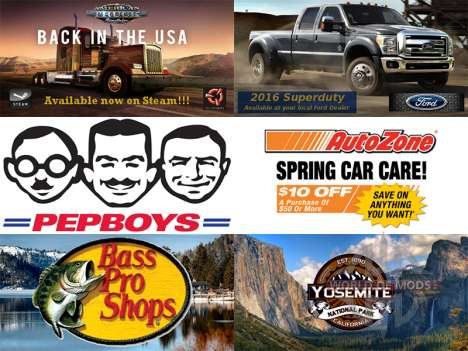 New advertising on billboards for American Truck Simulator