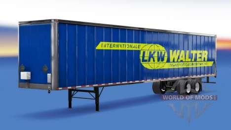 All-metal semi-LKW Walter for American Truck Simulator