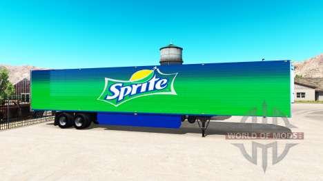 International skins for trailers for American Truck Simulator