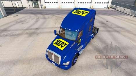 Skin Best Buy on tractor Kenworth for American Truck Simulator