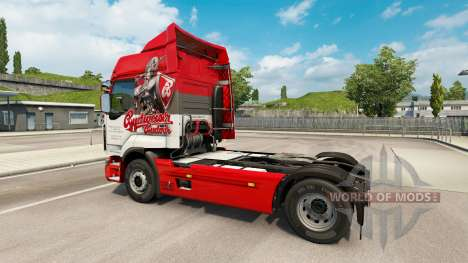 Skins on Czech Beer truck Renault for Euro Truck Simulator 2