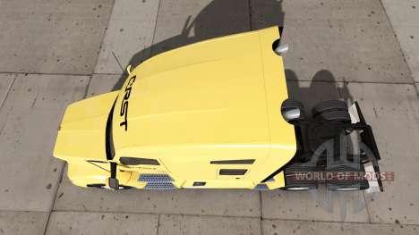 Skin CRST on truck Kenworth for American Truck Simulator
