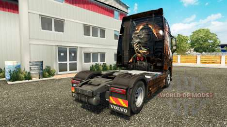 Egypt Queen skin for Volvo truck for Euro Truck Simulator 2