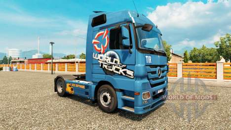 Skin World Of Trucks-for trucks for Euro Truck Simulator 2