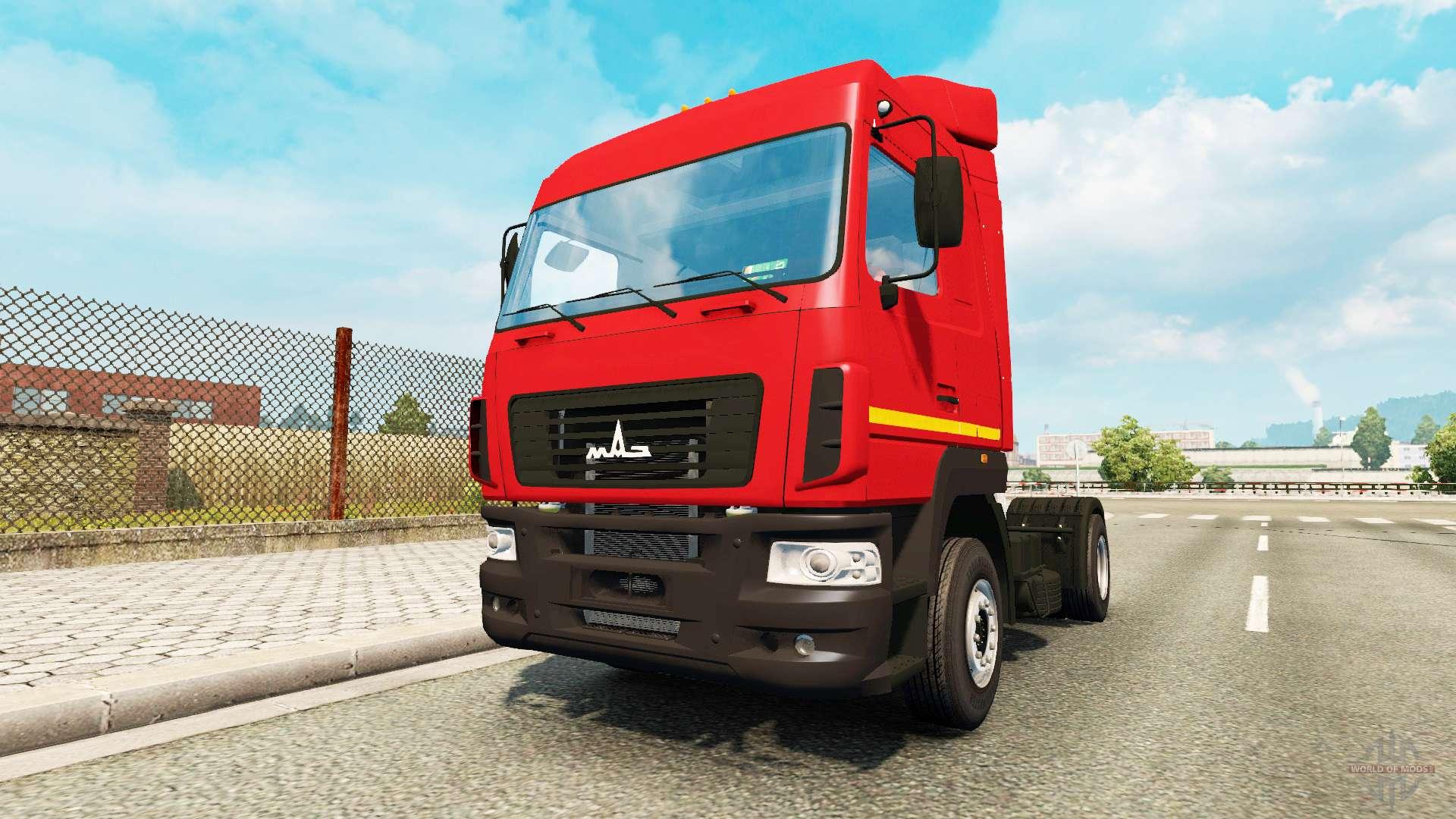 Çekici araç MAZ-504