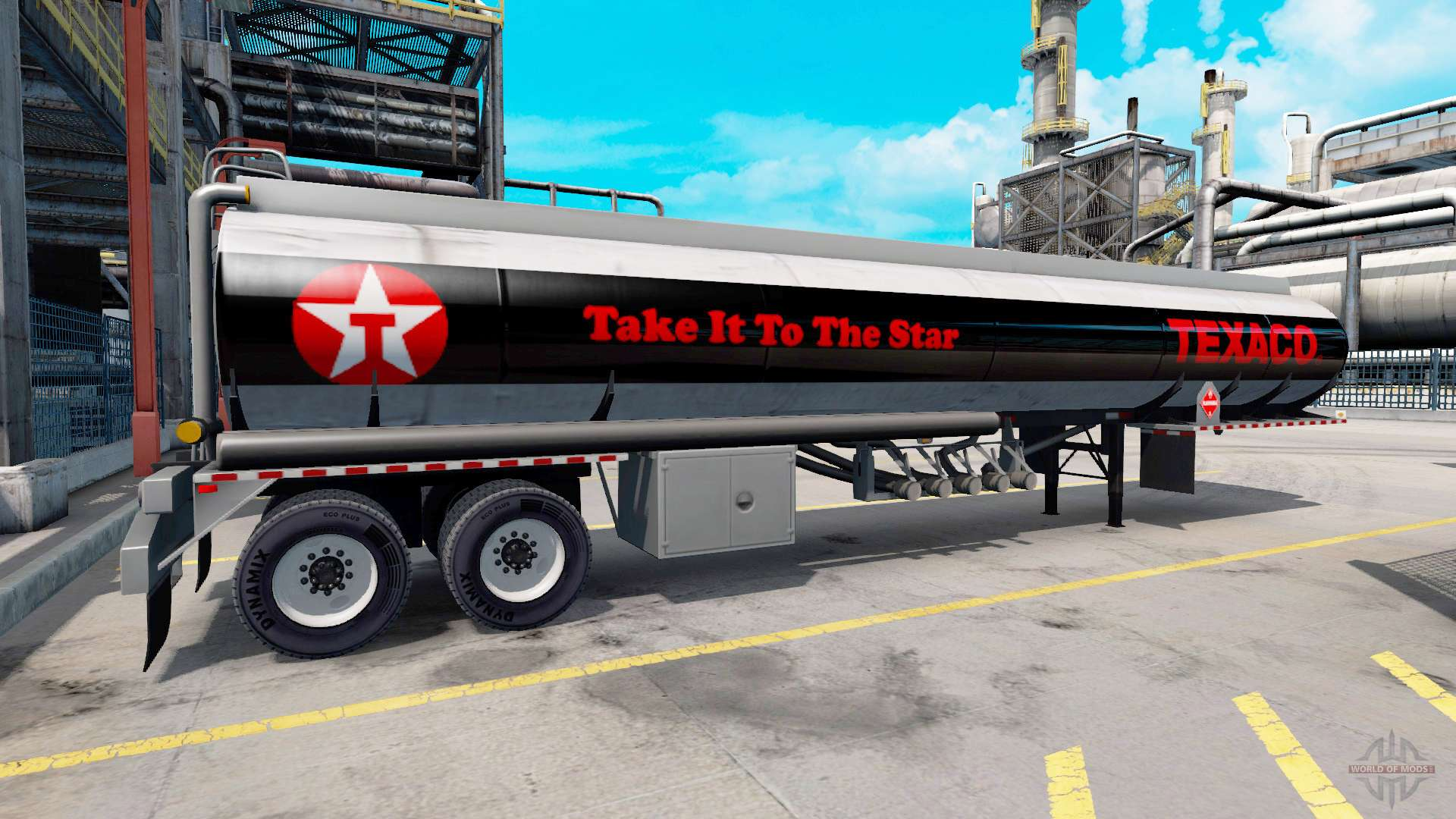 logos are fuel companies on trailers for american truck simulator. Black Bedroom Furniture Sets. Home Design Ideas