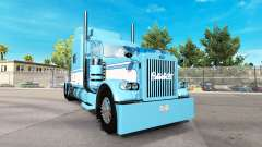 Skin Light Blue-White for the truck Peterbilt 38