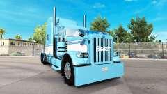 Skin Light Blue-White for the truck Peterbilt 38