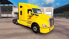 Skin Yellow Inc. for Peterbilt and Kenworth truc