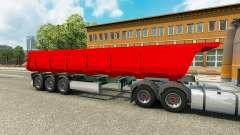 A semi-truck