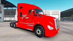 Skin the Chicago Bulls on tractor Kenworth