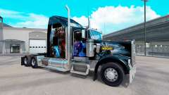 Skin World of Warcraft on the truck Kenworth W90