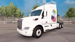 Scotland American skin for the truck Peterbilt