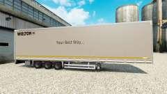 Curtain semi-trailer Wielton