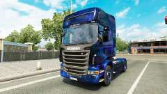 Cool Space skin for the truck Scania