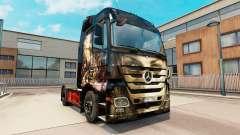 Luis Royo skin for Mercedes truck Benz