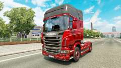 Skin Inter-Trans on the tractor Scania