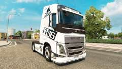 Skin Adidas for Volvo truck for Euro Truck Simulator 2