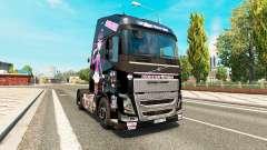 Monster High skin for Volvo truck