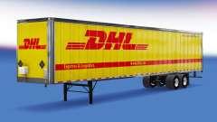 All-metal semitrailer DHL