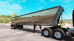Chrome semi truck