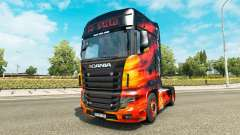 Skin Cool Fire truck Scania R700