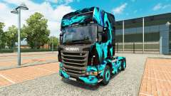 Skin Green Smoke for Scania truck