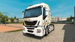 The Minions skin for Iveco tractor unit