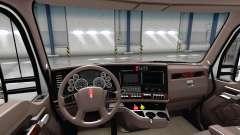 Luxury brown interior Kenworth T680