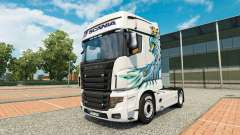 A collection of skins for Scania R700 truck