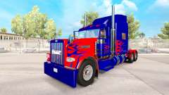 Optimus Prime skin for the truck Peterbilt 389