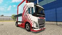 Skin Lion for Volvo truck for Euro Truck Simulator 2