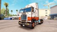 Skin USF on truck Freightliner FLB