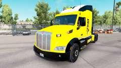 Caterpillar skin for the truck Peterbilt