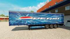 Pepsi skin for the trailer
