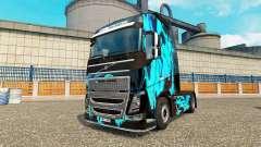 Skin Green Smoke for Volvo truck